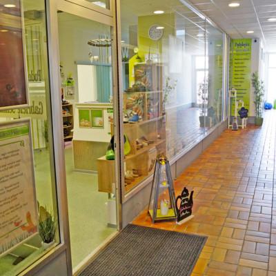 Foto: Passage 44 (Ein- und Ausgang zur Podologischen Praxis sowie zum Kundenparkplatz)